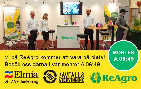 Kom och besök oss på Elmiamässan i Jönköping den 25-27 september!