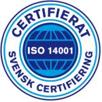 Certifiering enligt ISO 14001