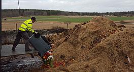 Kompostering i samarbete med det svenska lantbruket