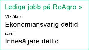 Lediga deltidsjobb på ReAgro »