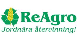 Logotyp ReAgro - Jordnära återvinning!