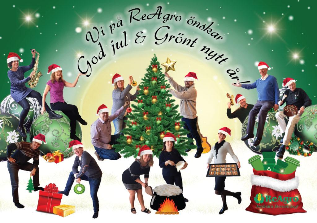 God jul & Grönt nytt år önskar vi på ReAgro!