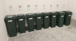 Soprum/återvinningsrum