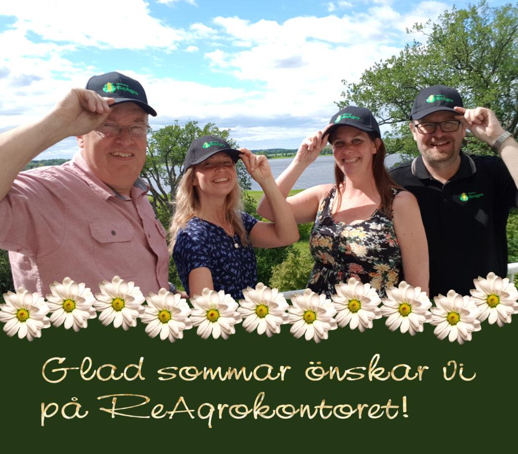 Trevlig sommar öskar vi på Reagrokontoret!