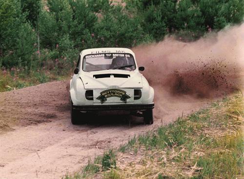 Mats Olsson med SAAB RC V4